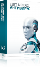 ESET NOD32 Антивирус для Windows на 3 ПК, на 1 год
